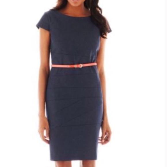 bbb1fc82 Alyx Dresses | Capsleeve Denim Sheath Dress | Poshmark